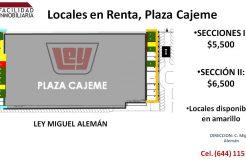 Plaza Cajeme 5,500-6,500