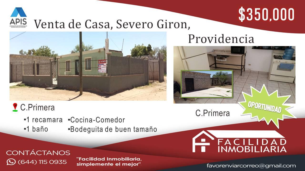 Casa en venta Severo Girón, Providencia