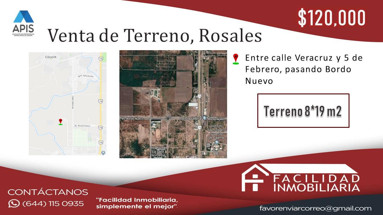 Terreno en ROSALES III