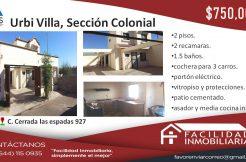 urbivilla colonial 750