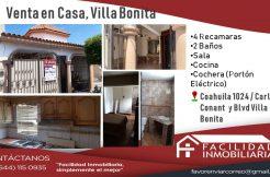 Villa Bonita 1m Valor 800