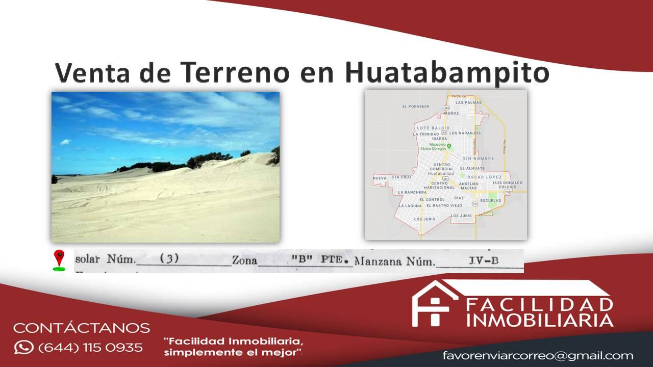 Terreno en Huatabampito