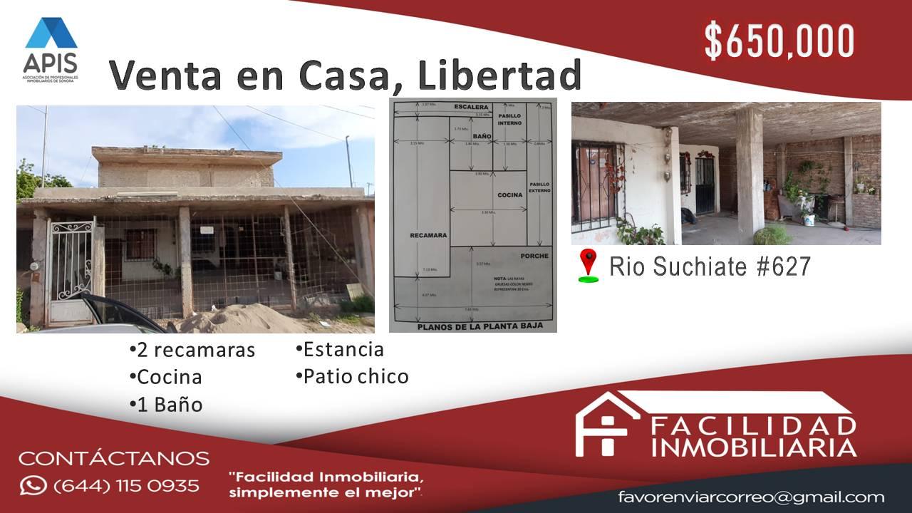Casa en Venta, Col Libertad