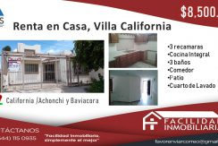 villa california 8500