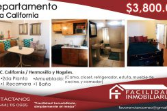Departamento Villa California 3800